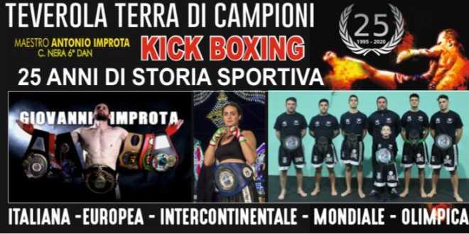 """""""Teverola Terra di Campioni"""": Boxing Improta celebra 25 anni di successi"""