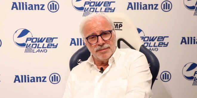 """Il presidente Fusaro a 360°: """"Milano squadra ricca di talento"""""""
