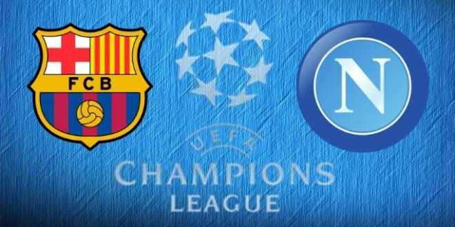 Champions League – Il Napoli affronterà il Barcellona di Lionel Messi