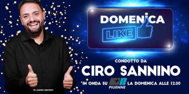 TORNA DOMENICA LIKE IL CONTENITORE DOMENICALE SU PIUENNE DA DOMENICA 18 OTTOBRE ALLE 12.00