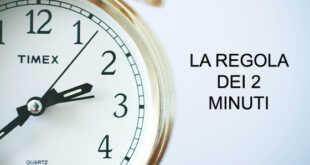 Sei un procrastinatore seriale? Ecco per te la regola dei due minuti.
