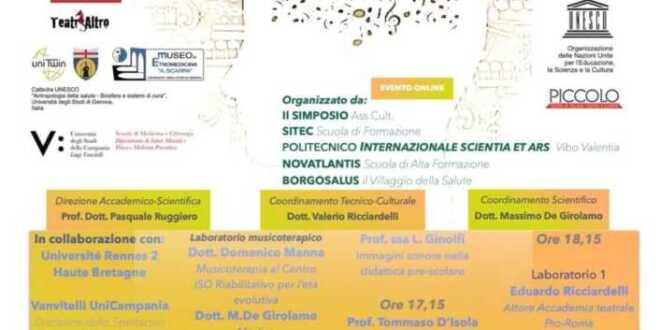 Convegno Internazionale della Musicoterapia Clinica a Pomigliano d'Arco