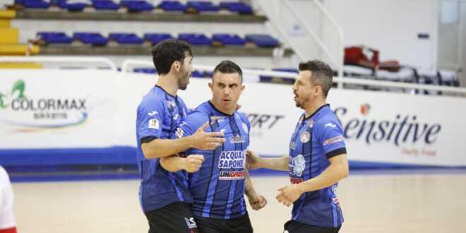 Acqua&Sapone Unigross Futsal: i nerazzurri vincono il primo round dei quarti contro Catania