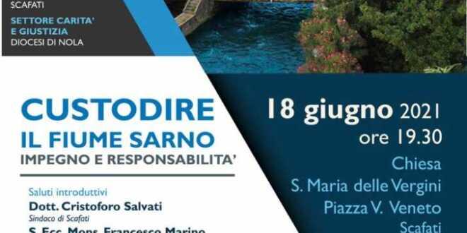 A Scafati convegno sul Sarno con il presidente della Cec, monsignor Di Donna, e il vicepresidente della Regione Campania, Bonavitacola