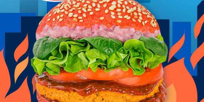 Assaporate il gusto della sfida: da Flower Burger è arrivato il burger di Hot Wheels!